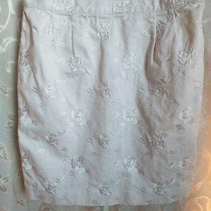 Apart White Skirt